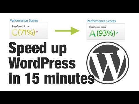 Optimising WordPress for Page Speed in 15 Minutes