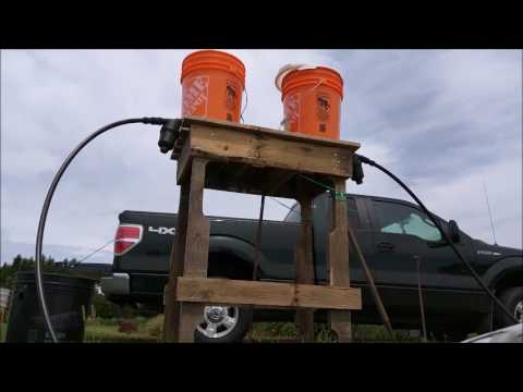 Simple Gravity Drip Irrigation