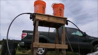 Simple Gravity Drip Irrigation
