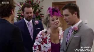 EastEnders - Whitney & Lee Get Married (Julia's Theme) 04/11/16