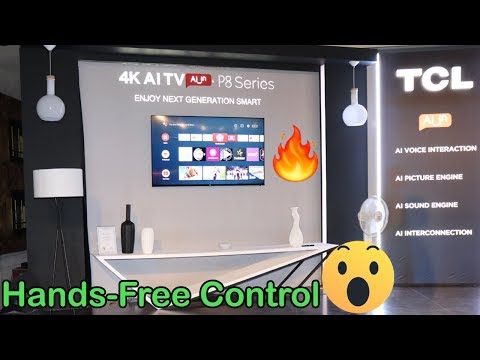 TCL P8 Series Launch Event | 4K AI Smart TV With Android Pie Starting At Rs 27,990🔥😮
