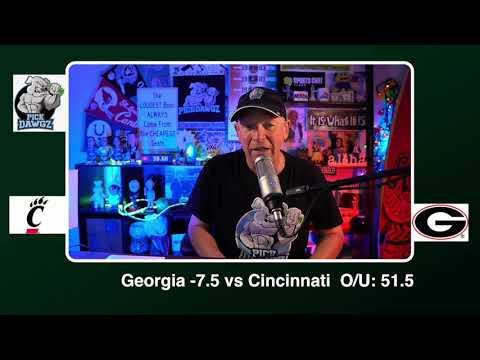 Georgia vs Cincinnati 1/1/21 Free College Football Picks Peach Bowl