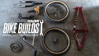 Nathan Sykes bike build - Colony BMX