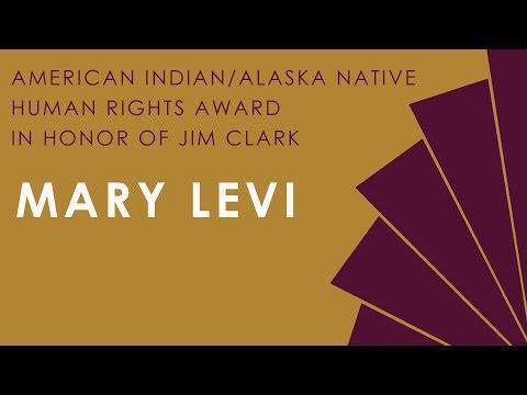 2018 American Indian/Alaska Native Human Rights Award in Honor of Jim Clark