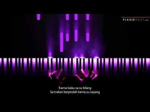 Near - Karna Su Sayang Ft Dian Sorowea (Indonesian Song) - Piano Karaoke / Sing Along Cover Lyrics
