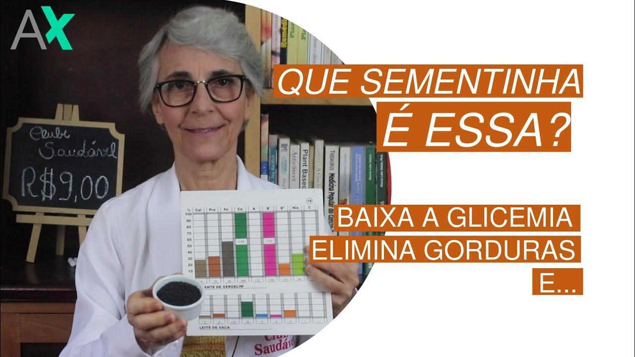 SEMENTINHA QUE ELIMINA GORDURA, BAIXA A GLICEMIA E...