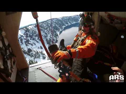 Man rescued from 1,000-foot fall into Crater Lake caldera