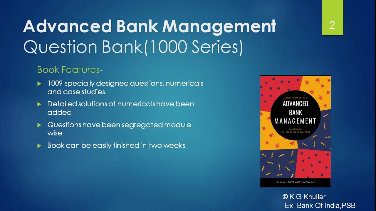 Bank Management Book