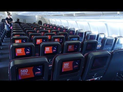 Full Flight Review Qantas A330-300 Economy Sydney to Melbourne
