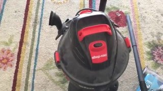 Shop Vac Maintenance - Filter and Bag Tune Up and Clogs
