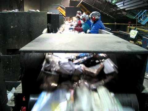 Waste recovery line - Cascades Recovery Inc. Toronto