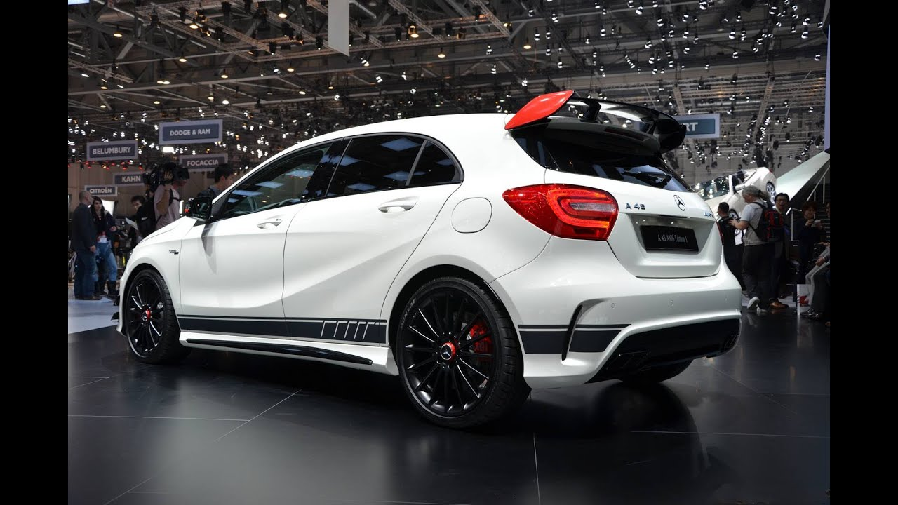 driving the a45 amg 4matic at mercedes benz world race track youtube. Black Bedroom Furniture Sets. Home Design Ideas