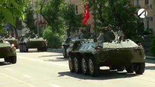 Парад Победы 9 мая 2016 в Астрахани