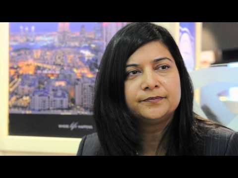 Seema Pande, group director of sales and marketing, The Address Hotels & Resorts @ WTM 2012
