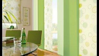 Зеленые шторы, как добавить частичку лета к себе в дом.