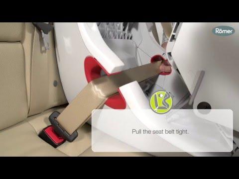 Britax Safety Installation: King Ll LS Car Seat