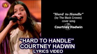 Скачать Courtney Hadwin Hard To Handle LYRICS VIDEO Cover Song GOLDEN BUZZER America S Got Talent 2018