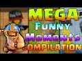 Funny Moments, Glitches, Fails, Wins and Trolls MEGA Compilation #3 | CLASh ROYALE Montage