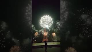 Feux d'artifice Paris 14 juillet 2017 # Paris fireworks