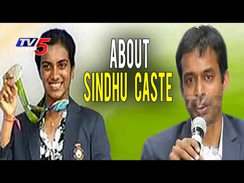 Gopichand Responds on PV Sindhu Caste | Telugu News | TV5 News