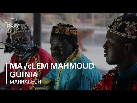 Maâlem Mahmoud Guinia Boiler Room Marrakech Live Performance