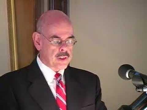 2006 CSWA Awards Luncheon - Congressman Henry Waxman, Wendy Smith