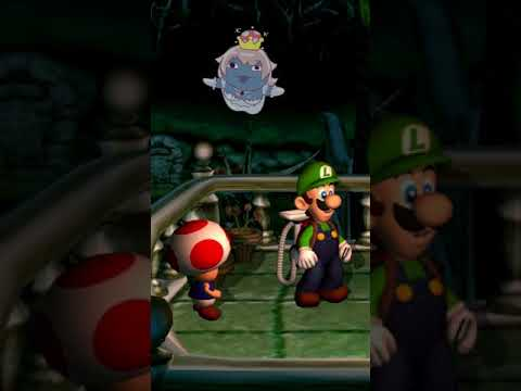 Bowsette:Luigi's Mansion,a terrible night~