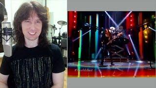 British guitarist analyses Liliac 39 s LIVE TV performance on 39 World 39 s Best 39