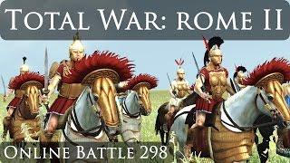 Total War Rome 2 Online Battle Video 298