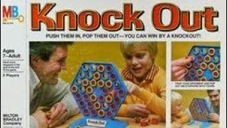 Ep 140:  Knock Out Board Game Review (Milton Bradley 1978)