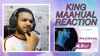 Reaction on King - Maahaul (The Showman Reel) | Mashhoor Chapter 1 | Prod. by Kane Beats | TCRH