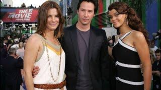 2006 Keanu Reeves and Sandra Bullock at event of 2006 MTV Movie Awards (RUS)