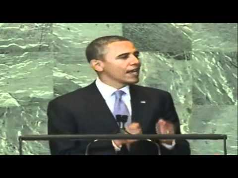 President Obama Addresses the UN General Assembly 21/9/11 Full