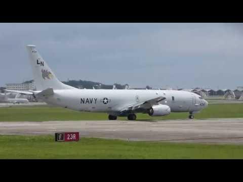 P-8A(LN 168434)の離陸(VP-45)