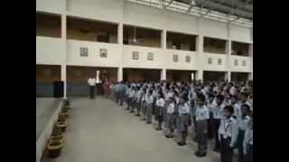 JVM ANOOPSHAHR NATIONAL ANTHEM ON 6TH MAY 2013, 10:00 AM