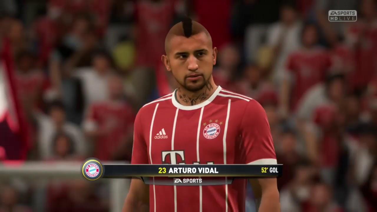 Arturo Vidal Demo de FIFA 18