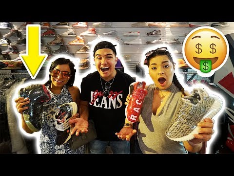 GIRLS GUESS SNEAKER PRICES CHALLENGE!! (HILARIOUS FAIL)