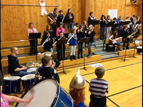 Searsport District High School Band, Feb. 5, 2015