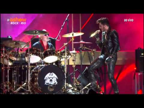 Queen + Adam Lambert -  Another One Bites the Dust - Rock In Rio 2015