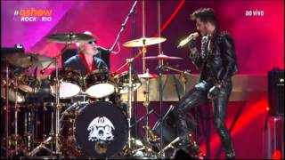 queen adam lambert   another one bites the dust   rock in rio 2015
