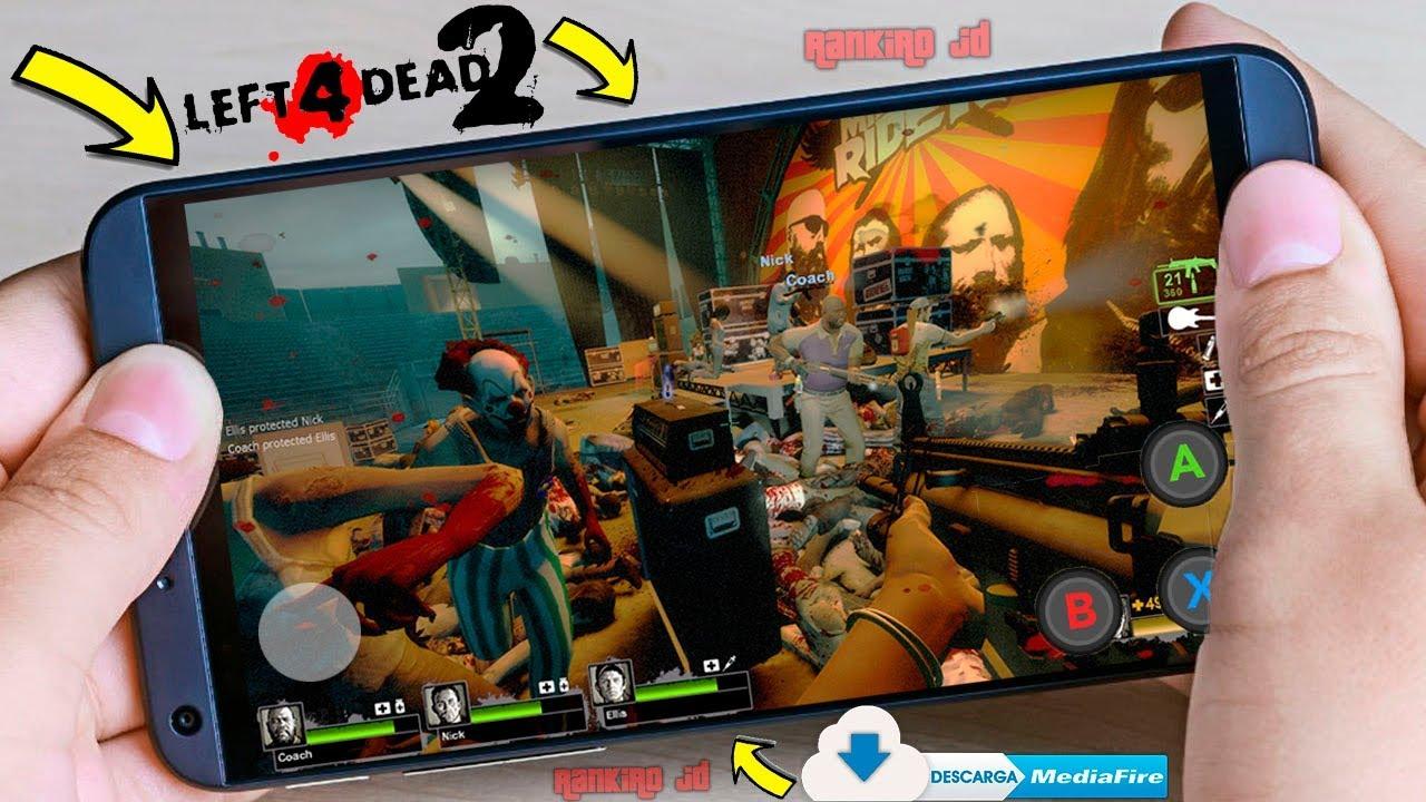 Left 4 Dead 2 Para Android Descarga Oficial Juego Beta Android