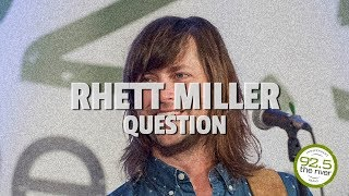 "Rhett Miller performs ""Question"""