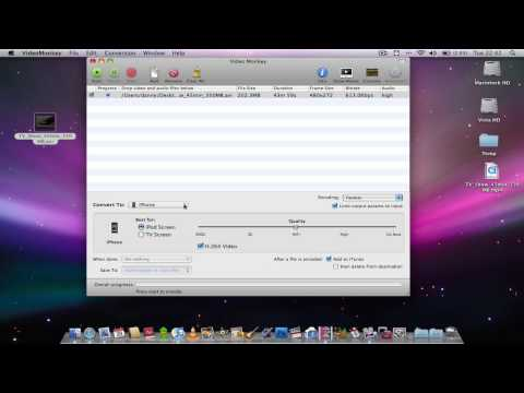Video Monkey (Freeware app): Video Converter for Mac OS X