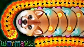 Wormax.io luckiest worm ever // Epic Wormaxio Gameplay (Wormaxio Funny Moments)