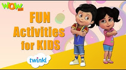 Fun Activities - Twinkl Vir The Robot Boy