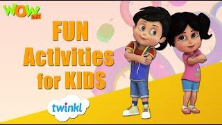 Fun Activities - Twinkl | Vir The Robot Boy | Wow Kidz