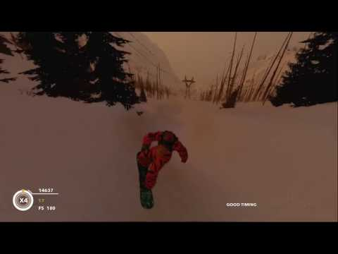 Steep Snowboard Freestyle (Tiger) Alps