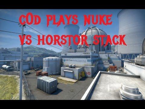 CSGO - c0d plays Nuke vs Horstor german onliner stack