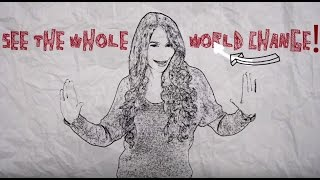 ERIKA - See The Whole World Change (Lyrics Video)