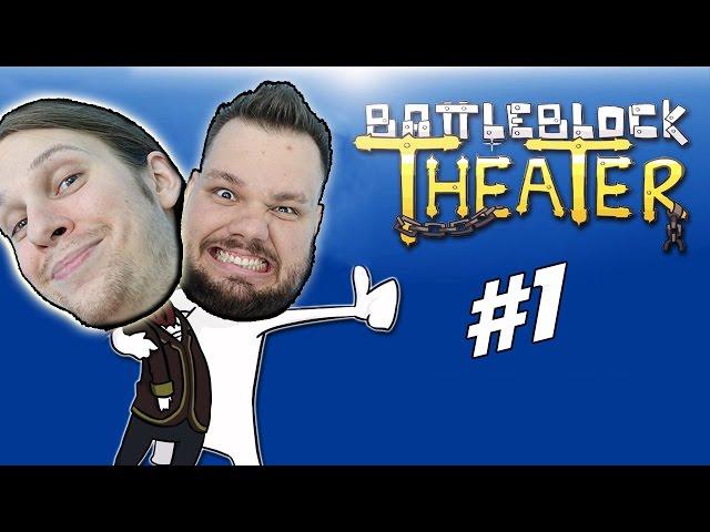 Börtön bunyó! | BattleBlock Theater #1